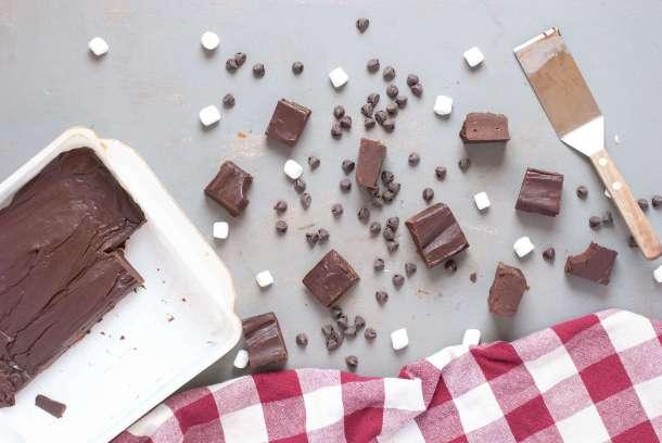 dairy free fudge recipe