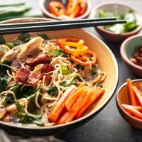 Gluten-free Instant Pot Bacon Ramen Noodles
