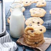 Soft Allergy-friendly Chocolate Chip Cookies (Gluten, dairy, egg, & nut free)
