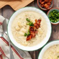 Instant Pot Loaded Potato Soup (Dairy free, Gluten Free & Vegan Directions Too!)