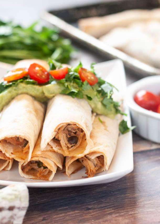 baked-chicken-taquitos
