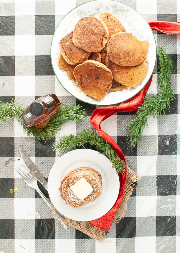 egg-free-gingerbread-pancakes