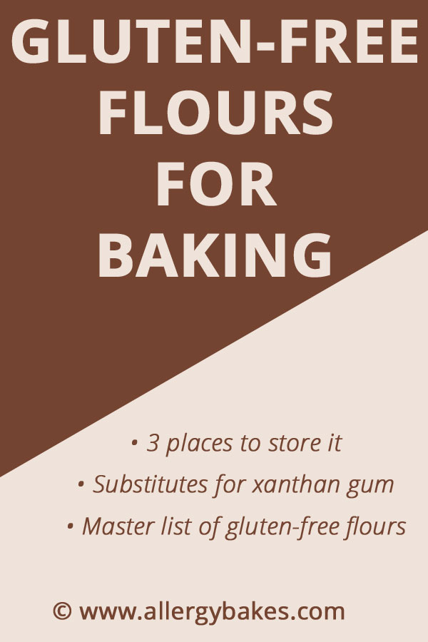 Do you want to know about gluten-free flours for baking? Do you know the best places to store gluten-free flour? And why should substituting xanthan gum be hard? This article has the most common gluten-free flours as well as xanthan gum substitutes. | Click the link to find out more. | #bestglutenfreeflour #glutenfreebakingideas #glutenfreeflourblend