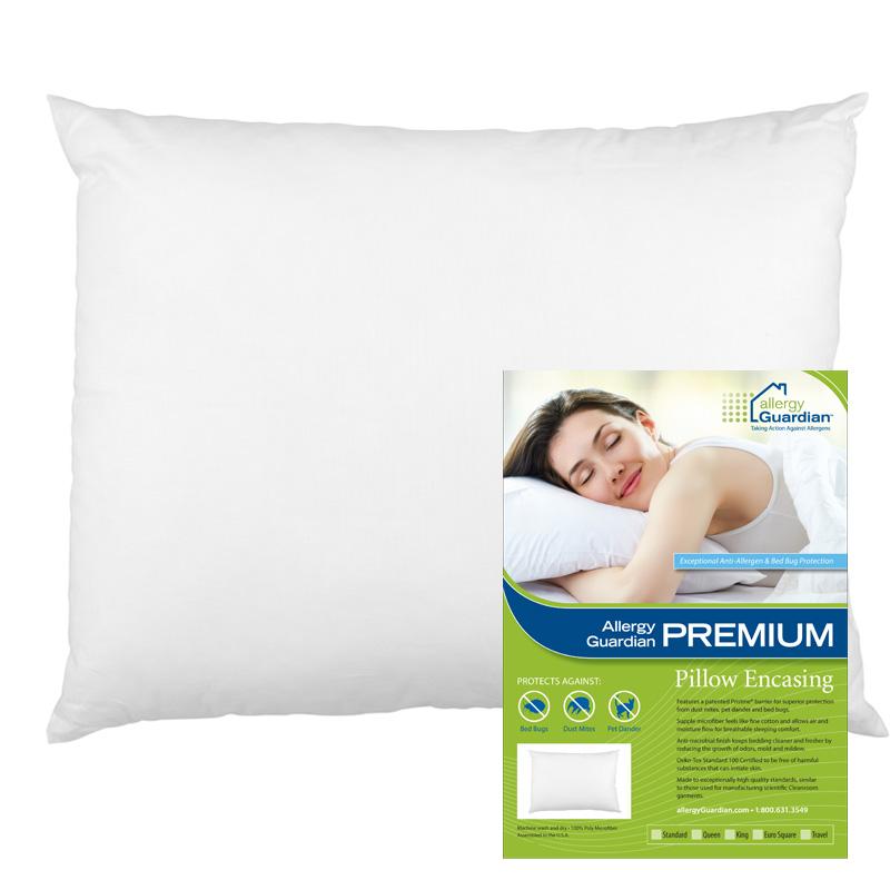 allergy guardian premium pillow encasings