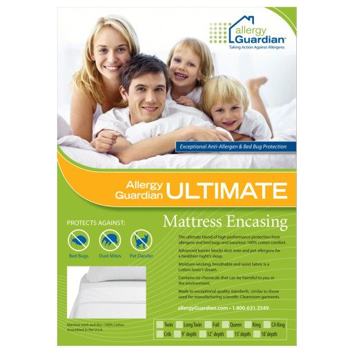 Allergy Guardian ULTIMATE Mattress Encasing Insert