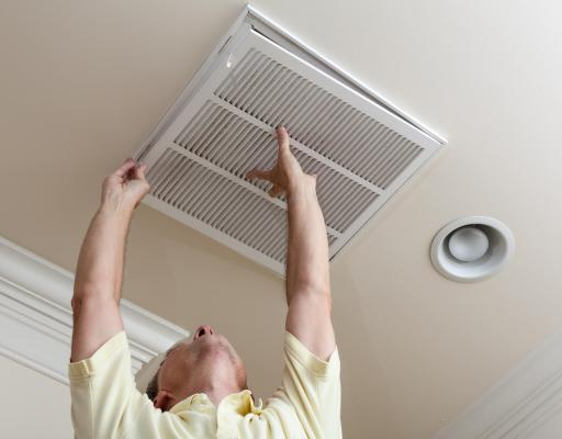 action against allergens, air vent