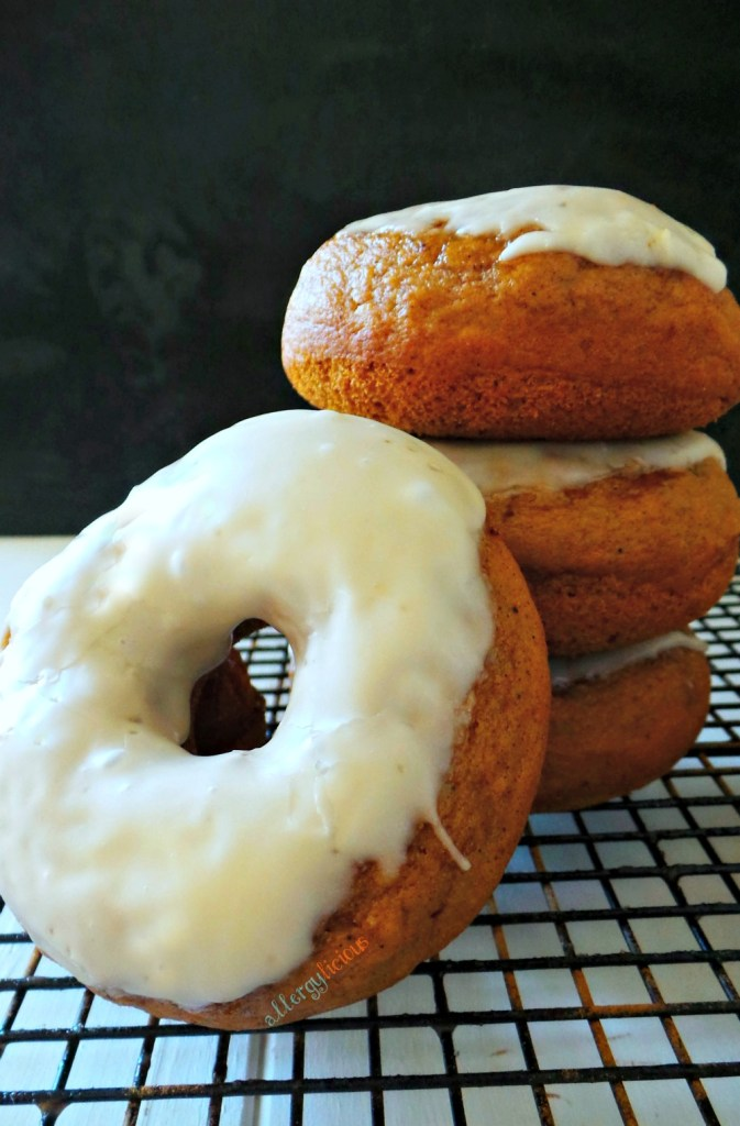 It's always the right season for Baked Pumpkin Donuts