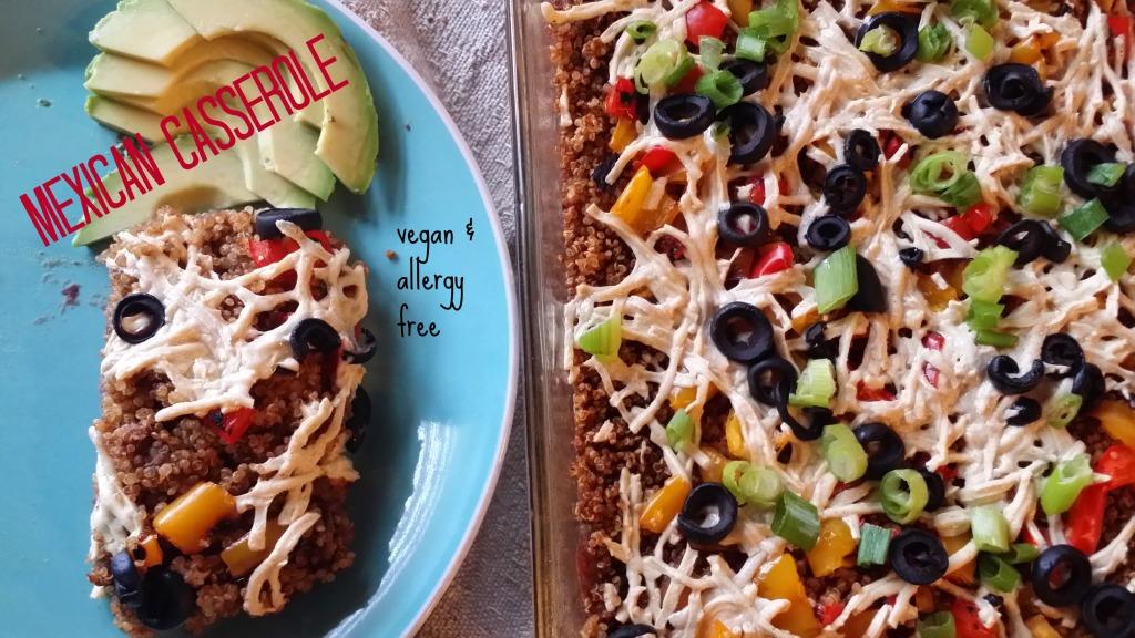 Mexican quinoa casserole allergylicious forumfinder Choice Image