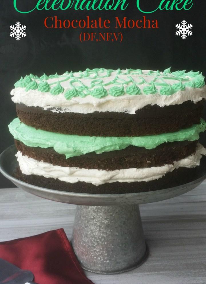 Celebration Chocolate Mocha Cake