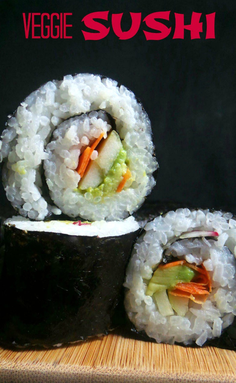 Easy to make, allergy-friendly & vegan sushi rolls.