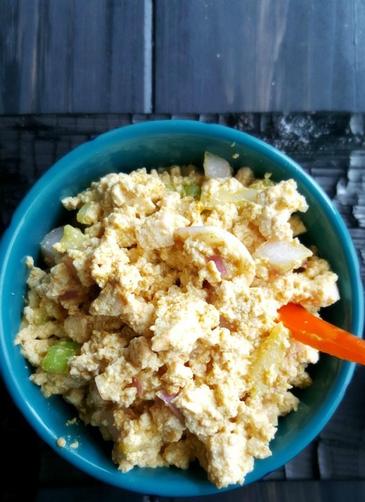 how to make eggless macaroni salad