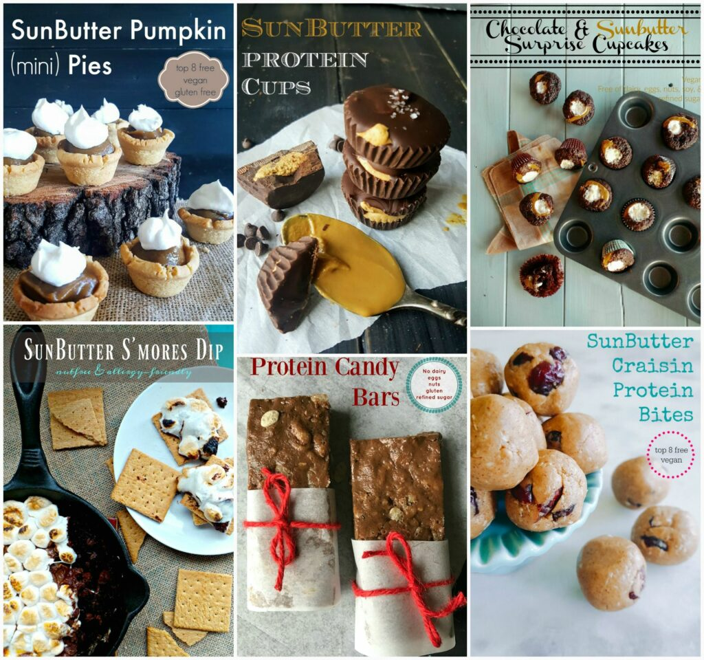 Nut-free treats using SunButter for when the sweet tooth hits