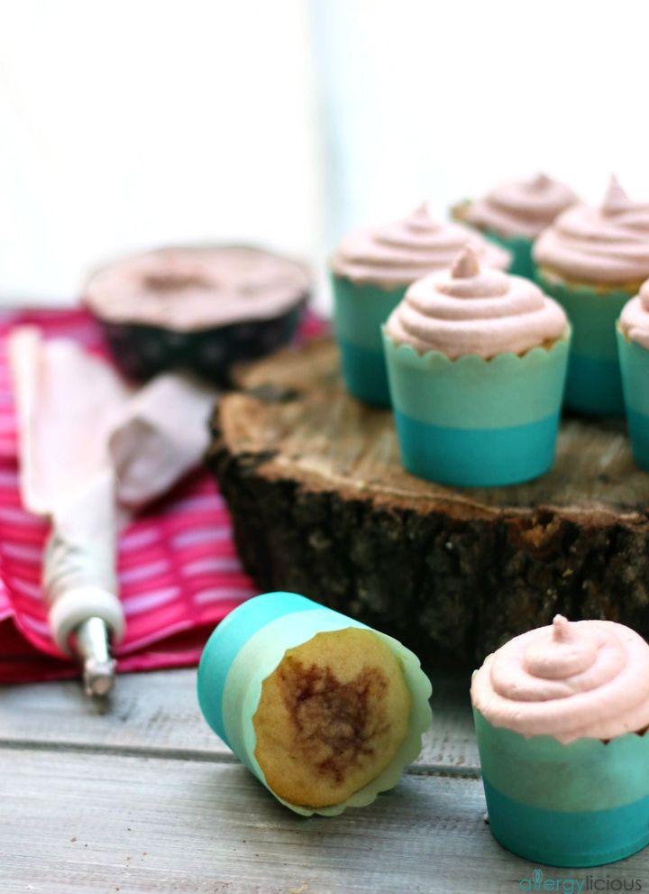 lemonade rosewater cupcakes