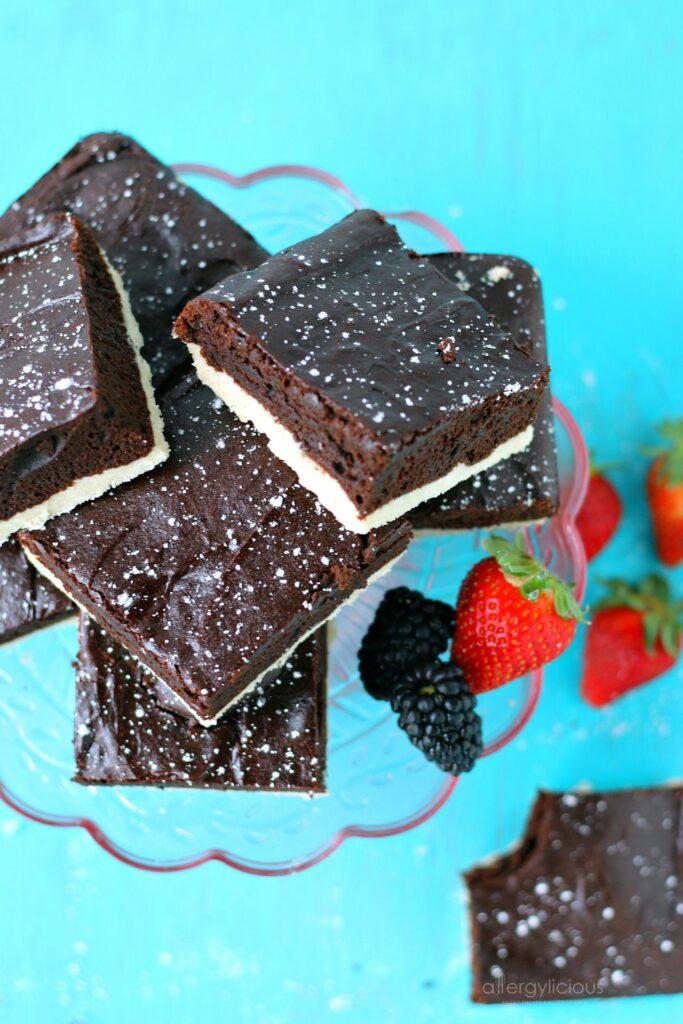 combine Delicious Fudge, Mocha & Shortbread? Brownie Heaven