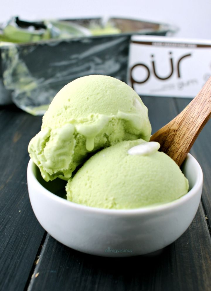 Chocolate Mint Bubblegum Ice Cream