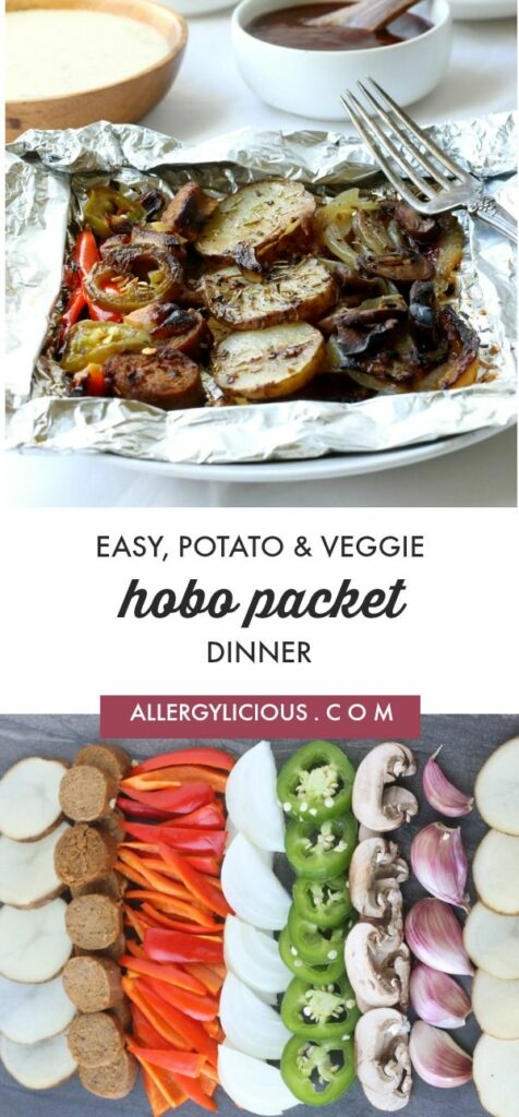 Potato & Veggie Foil Pack Dinner is easy & delicious, seasoned with herbs and grilled to perfection . This is one amazing meal that you don't want to miss out on.