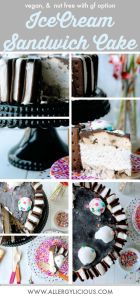 Cool & creamy, 3 Step, Ice Box Cake. Vegan & Nut Free with GF option