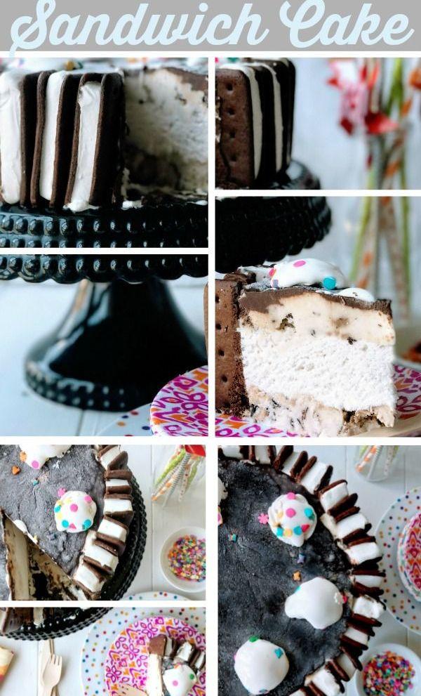Ice Cream Sandwich Cake {dairy, egg & peanut-free )