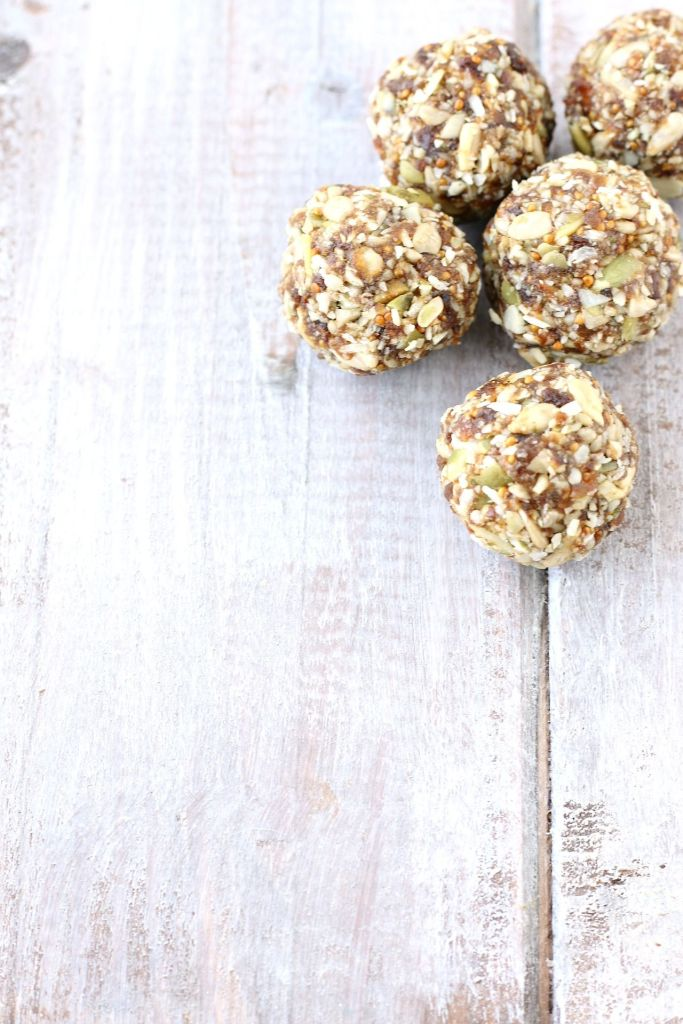 Wholesome Chewy Chocolate Seed Bites are a delicious, no bake, top 8 free snack