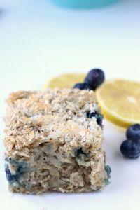 Each delightful bite of this Blueberry Snack Cake is bursting with fresh berries, lemon & sweet coconut.