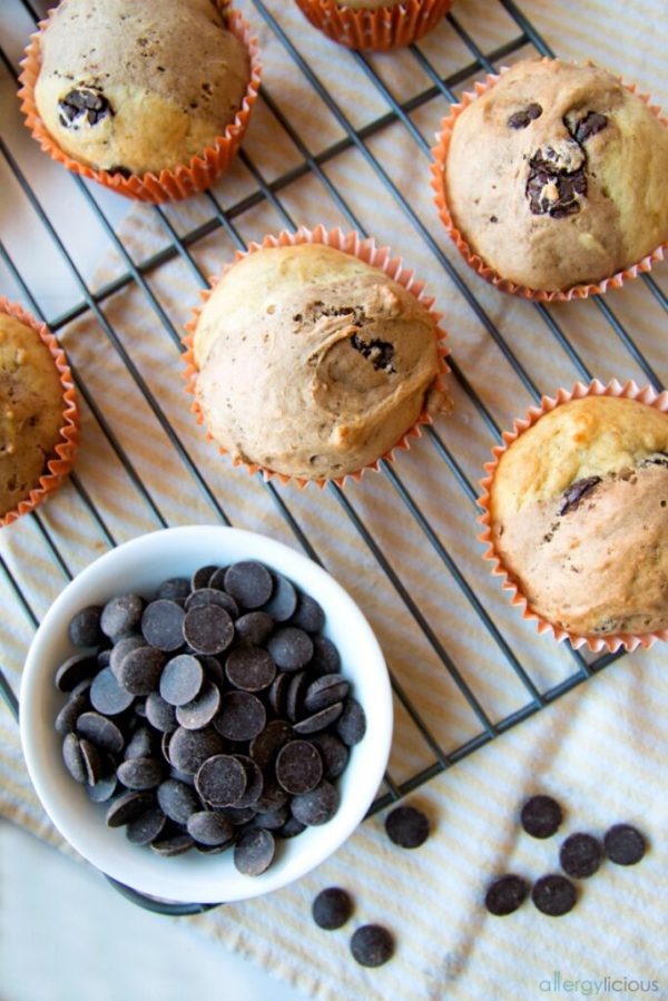 Chocolate Banana Split Muffin