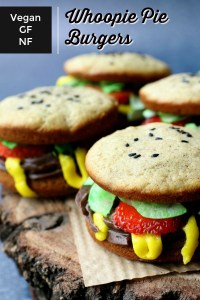 Whoopie Pie Burger short pin