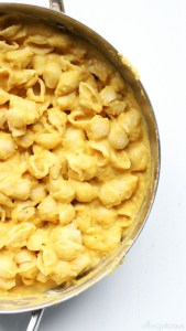 Creamy, vegan mac and cheese