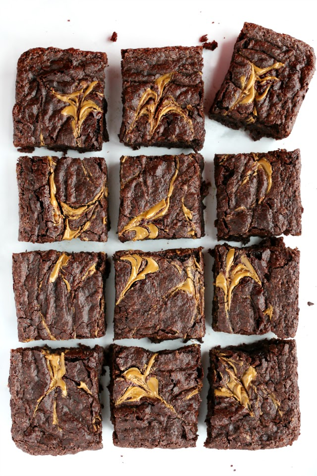 Easy Vegan Gluten-free Brownies (+ video)