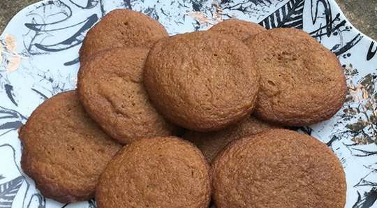 Vegan Ginger Cookies
