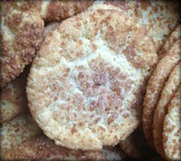 Dairy and Egg Free Snickerdoodles