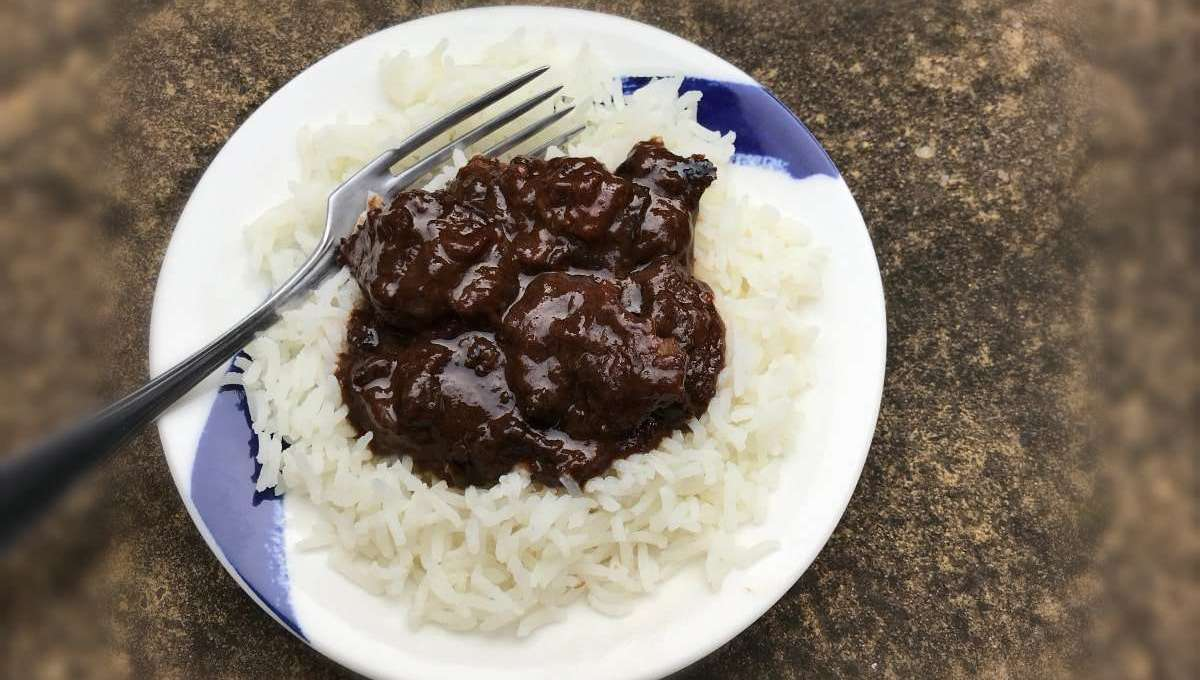 Slow Cooked Dairy Free Chocolate Beef