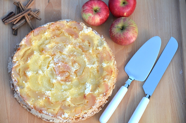 Scharlotka Kuchen - Apfelkuchen