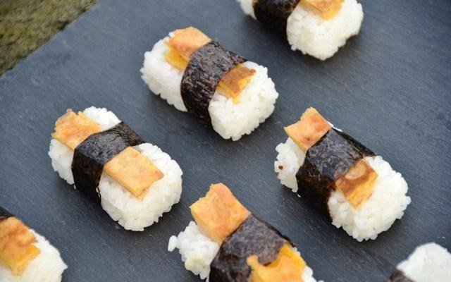 Sushi Reis mit japanischem Omelett – leckeres für die Sushi Lunchbox
