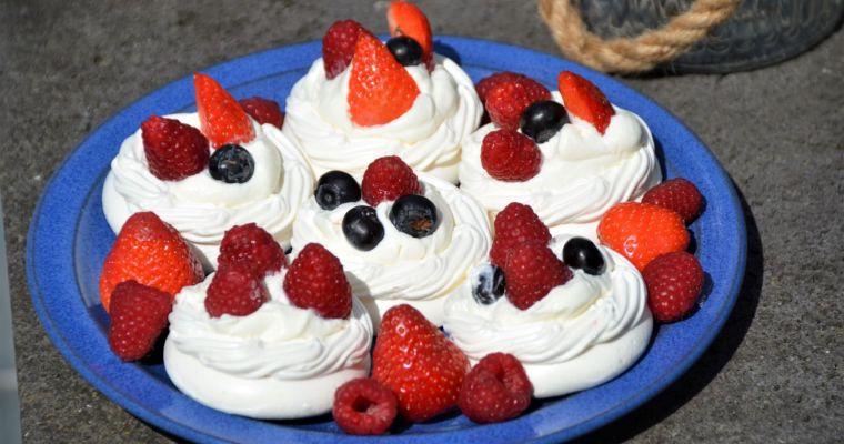 – Meringue Törtchen – …und was süßes zum Dessert