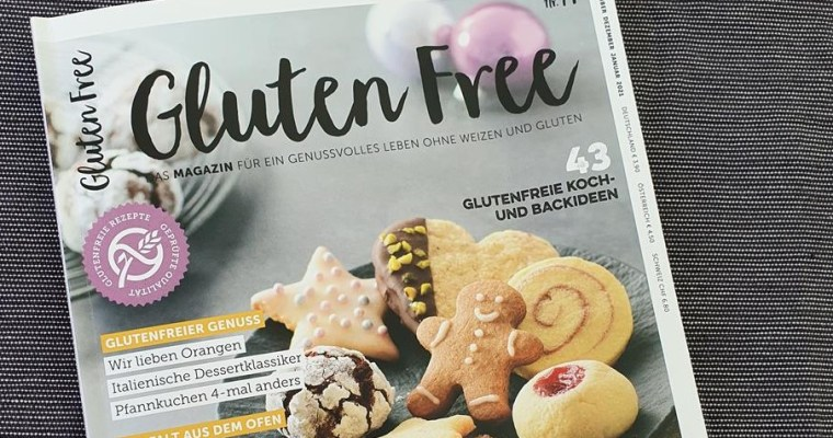 Die neue Ausgabe des Gluten Free Magazins* war heute im Briefkasten