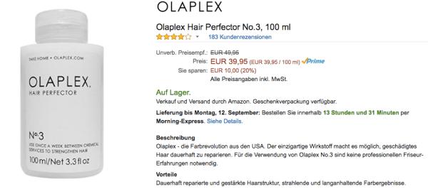 Was kann Olaplex