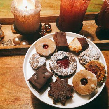 Weihnachtsplätzchen Low Carb und zuckerfrei