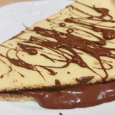 Low Carb Pfannkuchen mit Schokolade