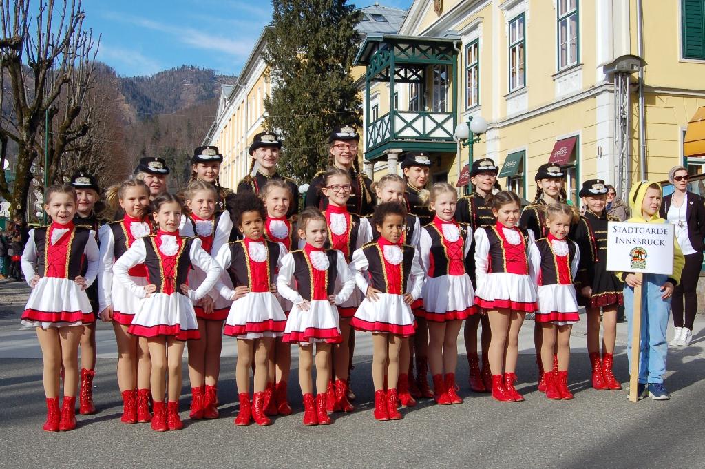 Stadtgarde Innsbruck - Abschlussfest und Showtraining