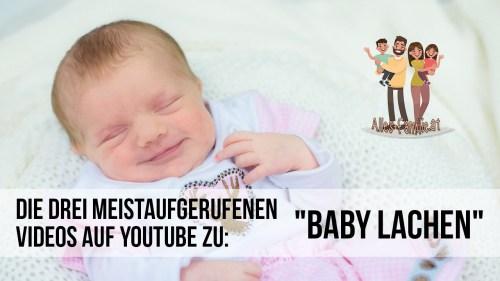 """""""Baby lachen"""" – Die drei meist geklickten Videos auf Youtube"""