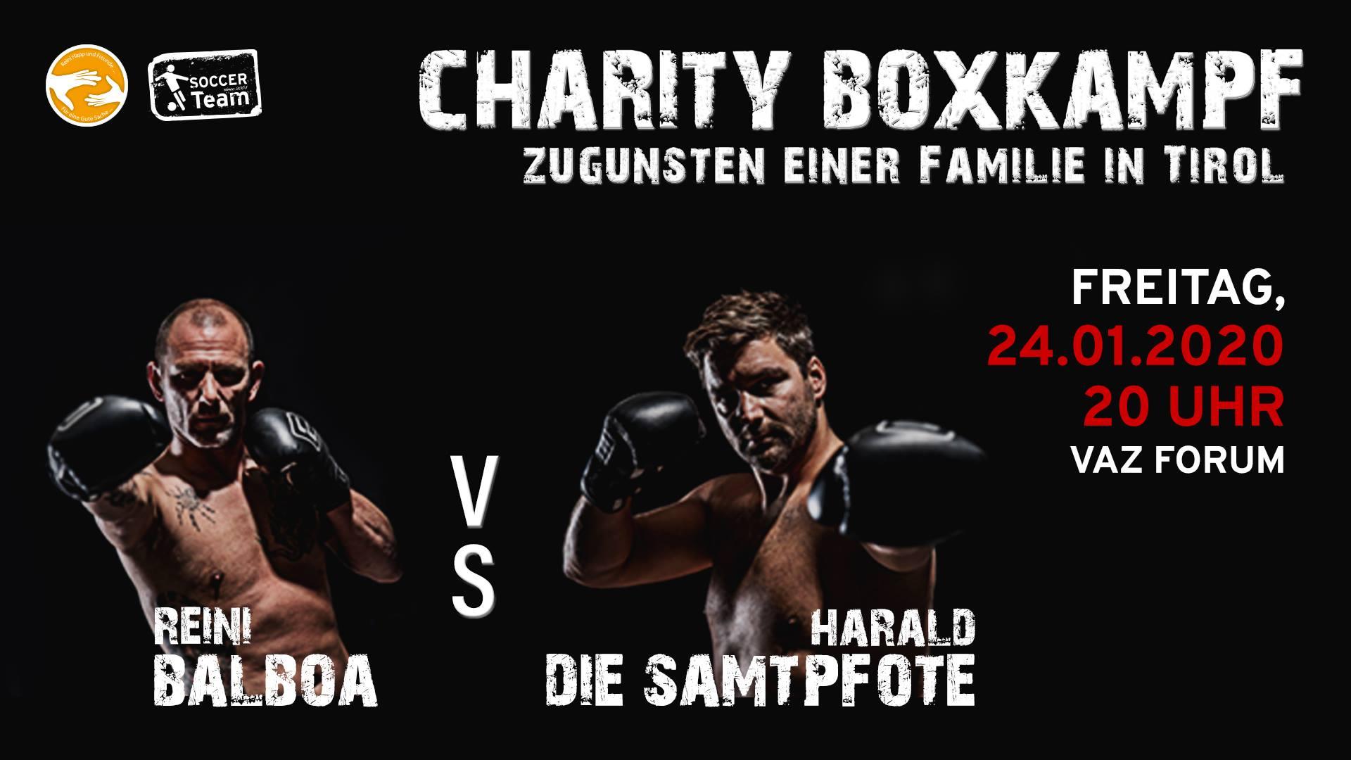Charity Boxkampf / Forum in Rum