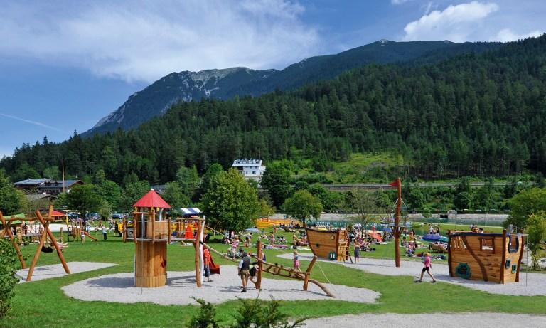 Kinderspielplatz am Achensee in Achenkirch – Einfach toll