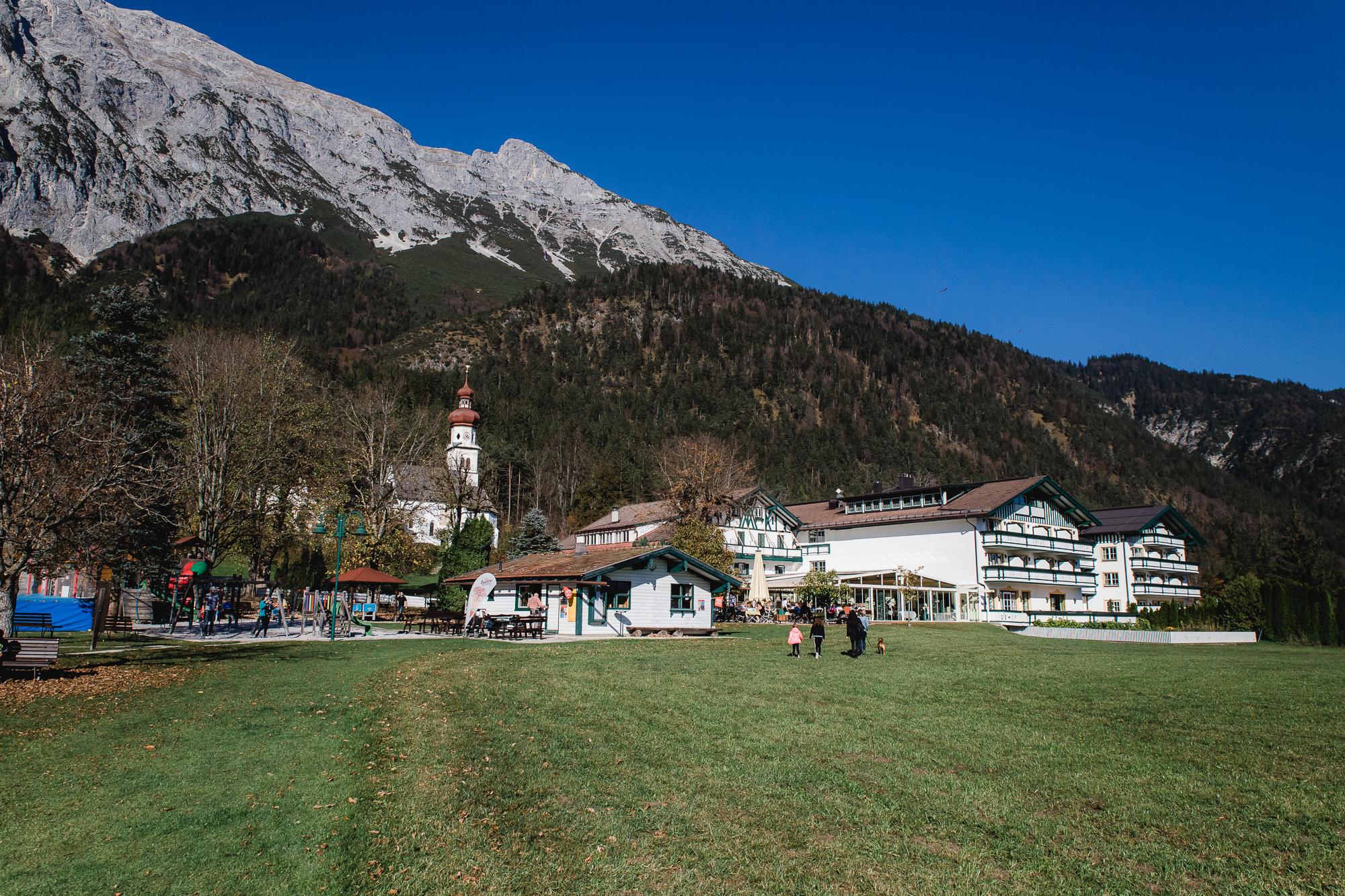 Minigolf beim Speckbacherhof in Gnadenwald