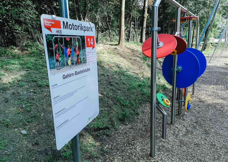 Baggersee Innsbruck - Motorikpark wurde erweitert