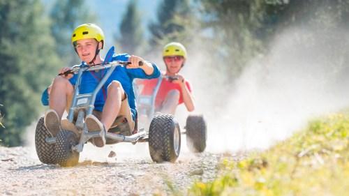 Mountain Cart Day auf der Mutterer Alm