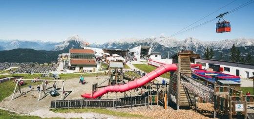 Rosshütte Seefeld | Ein Spielplatz am Berg | Gesamtansicht