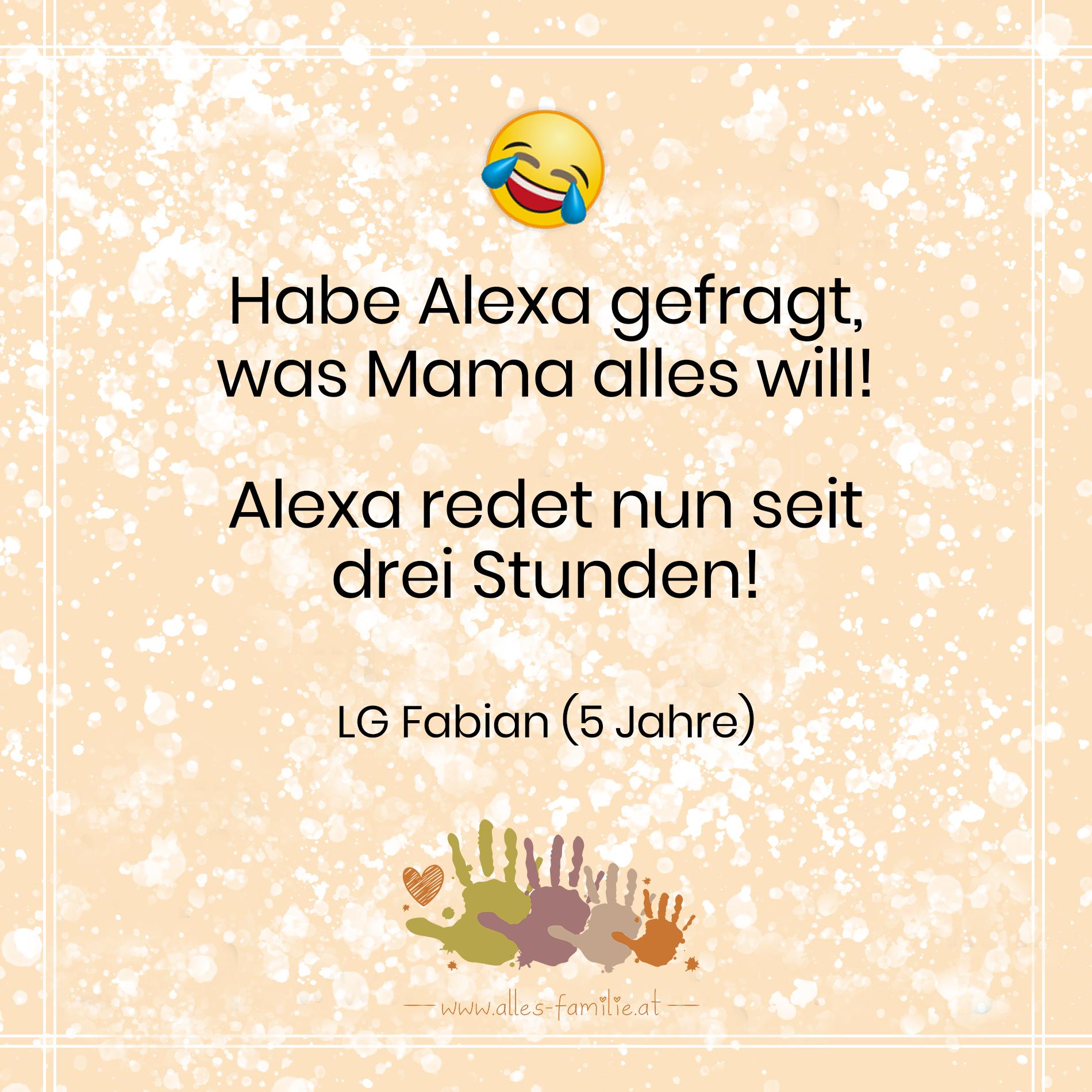 Wenn man Alexa nach Mama fragt
