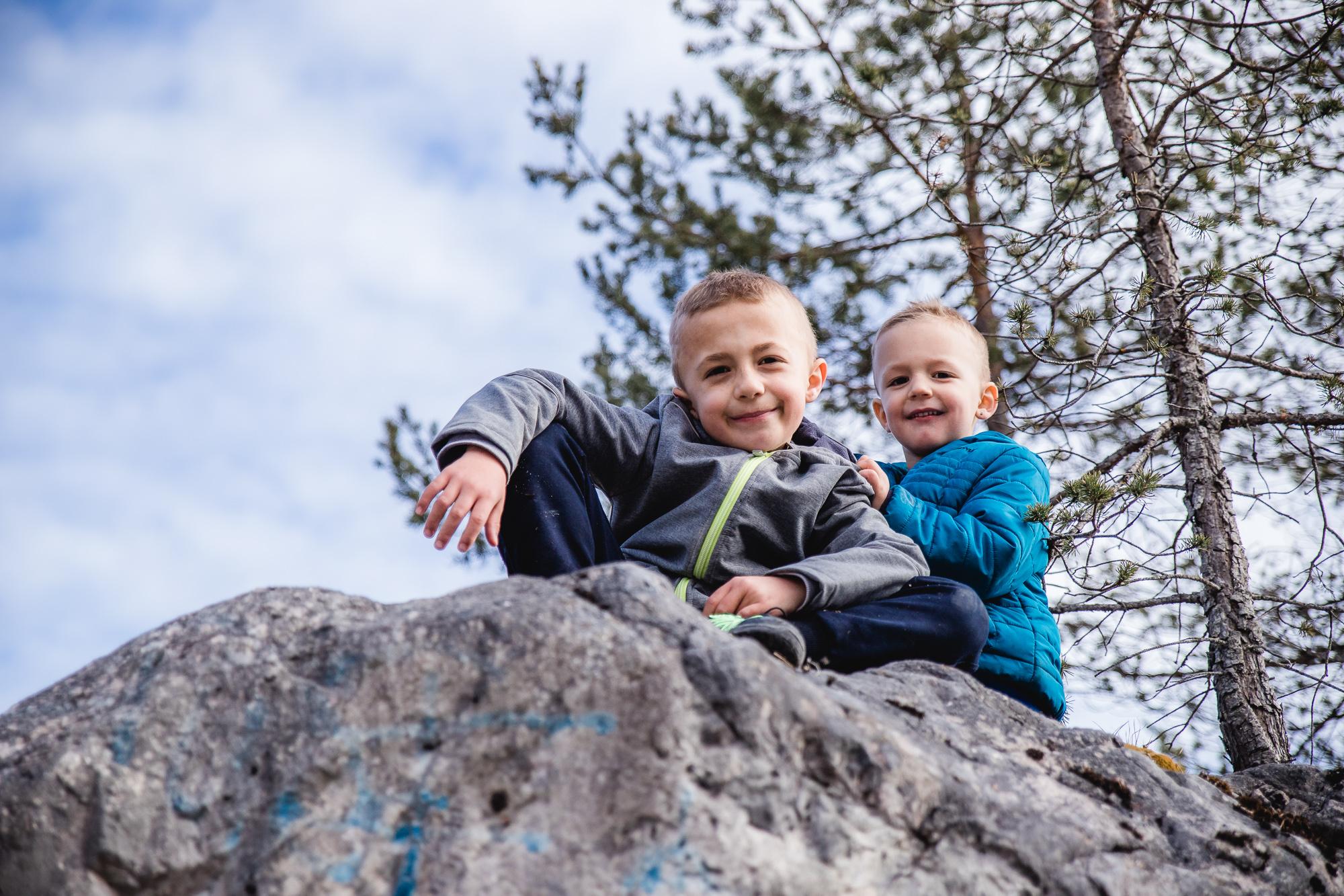 Meine zwei Bergsteiger