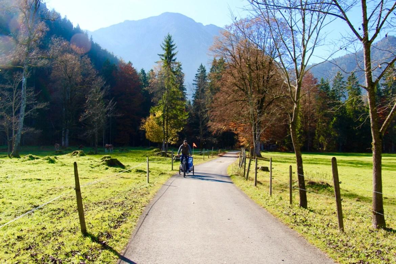 Eine Familientour mit dem Fahrrad rund um dem kleinen Ort Geitau zwischen Schliersee und Bayrischzell. Wunderschön!