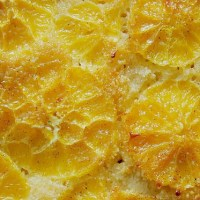Umgedrehter Orangenkuchen ................ {orange cake upside down}